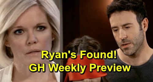 General Hospital Spoilers: Ryan's Found - Shiloh Blindfolds Sam - Kristina Spills Deadly Secret - Weekly Preview April 3-5