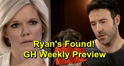 General Hospital Spoilers: Ryan's Found - Shiloh Blindfolds Sam - Kristina Spills Deadly Secret - Weekly Preview April 3-5