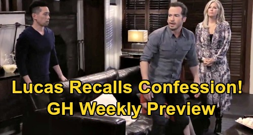 General Hospital Spoilers: Week of February 17 Preview - Lucas Remembers Wiley Confession - Nelle and Brad's Baby Swap Exposed