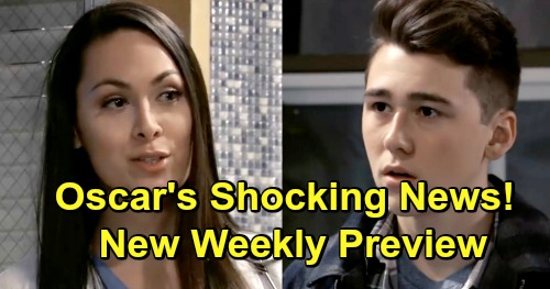 General Hospital Spoilers: Big February Preview Video - Oscar Gets Good News - Sam Works Shiloh - Ryan's Meltdown