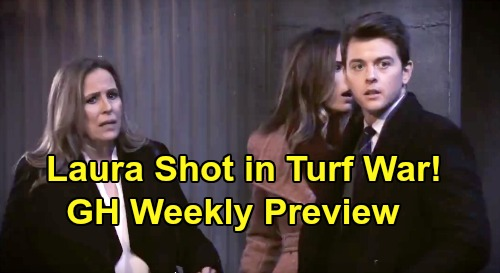 General Hospital Spoilers: Week of January 20 Preview - Jason Goes Stone Cold in Turf War - Laura Shot - Michael Breaks Up With Sasha