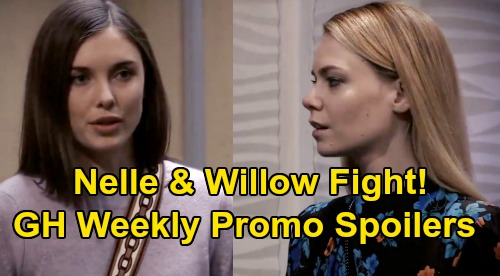 General Hospital Spoilers Weekly Preview - Lulu & Valentin Custody War Ignites - Nina's Two Lovers - Nelle & Willow Fight