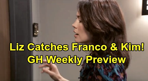 General Hospital Spoilers: Week of September 16 Promo - Liz Catches Franco and Kim In Bed - Shiloh's Ominous Prediction For Willow