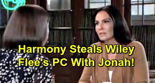 General Hospital Spoilers: Harmony Kidnaps Wiley - Wants to Give Shiloh His Son Back - Escapes Port Charles With Jonah?