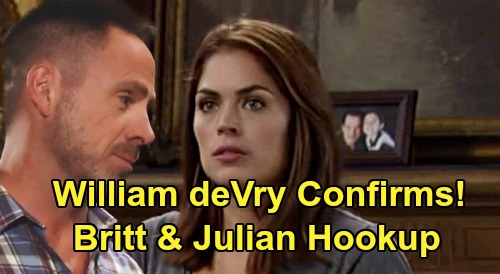 General Hospital Spoilers: Britt Westbourne and Julian's Sizzling Hot Hookup – William deVry Confirms Wild Passion Erupts for Unexpected Duo