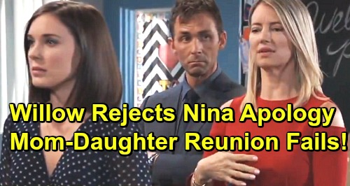 General Hospital Spoilers: Willow Rejects Nina's Apology – Mother-Daughter Reunion Fails?
