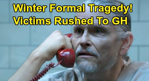 General Hospital Spoilers: Multiple Victims Rushed to GH – Winter Formal Tragedy, Cyrus Turns Teen Fun Into Nightmare?