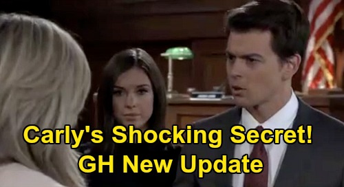 General Hospital Spoilers Update: Monday, May 18 – Molly's Pregnancy - Julian Joins Nelle, Mrs. Jerome - Carly's Secret Warning