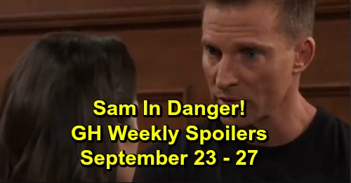 General Hospital Spoilers: Week of September 23-27 – Trapped Sam Needs Hero Jason – Brad's Apologetic Confession – Kim's in a Panic