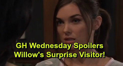 General Hospital Spoilers: Wednesday, December 11 – Willow's Surprise Visitor – Sonny's Outburst Alarms Carly – Nelle Grows Impatient