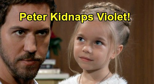General Hospital Spoilers: Violet Kidnapped, Peter Desperate to Avoid Drew Cain Murder Punishment – Hostage as Leverage?