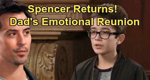 General Hospital Spoilers: Spencer Cassadine Returns For Emotional Nikolas Reunion – Nicolas Bechtel's Comeback Details