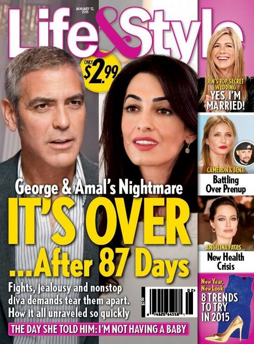 George Clooney Divorce: Amal Alamuddin Massive Fight and Diva Behavior After Six Months Of Marriage?