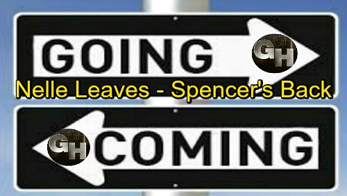 General Hospital Spoilers: Comings and Goings – Nicholas Bechtel Previews Spencer's Surprising Comeback – Nelle Checks Out Again