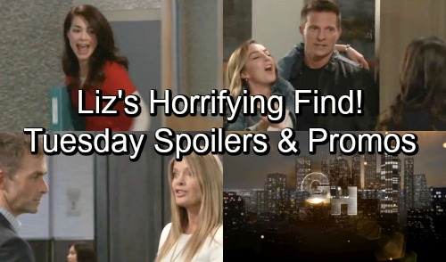 General Hospital Spoilers: Tuesday, October 23 – Liz's Horrifying Discovery – Ava's Sneaky Sasha Plan – Jason Rescues Drunk Kristina