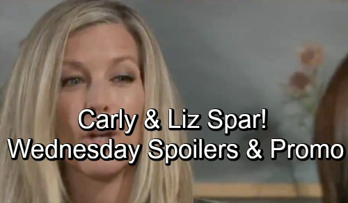 General Hospital Spoilers: Wednesday, October 24 – Drew Delivers a Blow to Curtis – Sam Faces Kim's Urgent Plea – Carly and Liz Spar