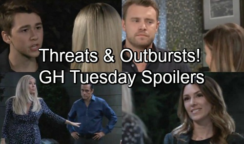 General Hospital Spoilers: Tuesday, October 9 – Kim Calls for Drastic Action – Oscar Explodes at Josslyn – Margaux's Fierce Warning
