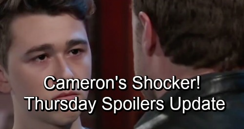 General Hospital Spoilers: Thursday, November 1 Update – Nelle Brings Michael and Chase Together – Nina's Battle – Cameron's Shocker