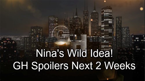 General Hospital Spoilers for Next 2 Weeks: Mike Causes Corinthos Nightmare – Nina's Wild Idea – Monica Messes Up
