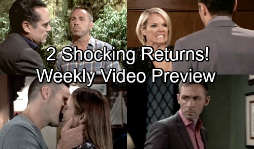 General Hospital Spoilers: Hot Shocker Promo - 2 Jaw-Dropping Returns - New Weekly Preview Video