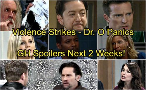 General Hospital Spoilers for Next 2 Weeks: Violence Erupts – Dr. Obrecht Panics – Liz Faces a Shocker – Spinelli Steps Up