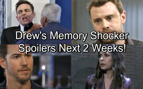 General Hospital Spoilers for Next 2 Weeks: Drew's Memory Procedure Shocker – Anna Faces Peter's Wrath – Valentin's Destruction