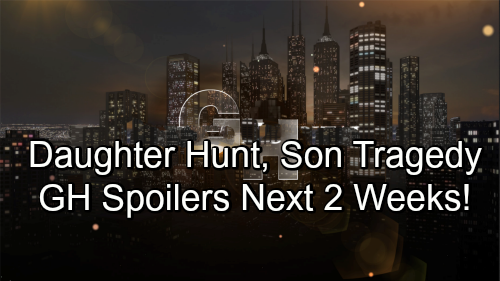 General Hospital Spoilers Next 2 Weeks: Drew Pushes Sam Away - Charlotte Inspires Nina's Child Search - Oscar's Discovery
