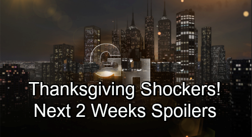 General Hospital Spoilers Next 2 Weeks: GH Thanksgiving Shockers – Valentin's Fierce Warning – Ava's Invitation Brings Danger
