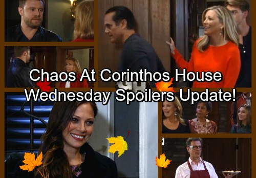 General Hospital Spoilers: Wednesday, November 22 Update – Corinthos Chaos Erupts – Lulu Grills Maxie – Jason Desperate for Love