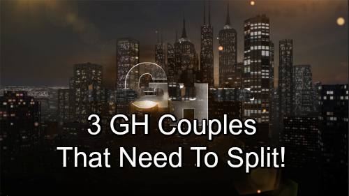 General Hospital Spoilers: Port Charles' Problematic Pairings - 3 GH Couples That Need to Split