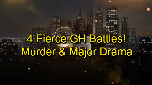 General Hospital: 4 Fierce GH Battles Brewing – Conflict Erupts in Port Charles, Showdowns Bring Murder and Major Drama