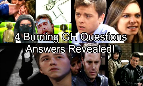 General Hospital Spoilers: 4 Burning GH Questions and Why the Answers Will Be Must-See TV!