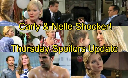 General Hospital Spoilers: Thursday, May 10 Update – Walls Close in for Sonny – Carly Faces Nelle's Shockers – Lucy Pressures Chase