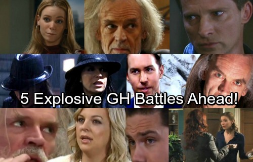 General Hospital Spoilers: 5 Fierce Faceoffs – Check Out the Explosive GH Battles Ahead