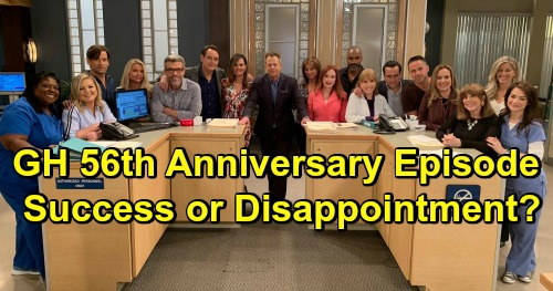 General Hospital Spoilers: GH 56th Anniversary Disappointment or Success – Long-Awaited Episode Failed to Deliver?