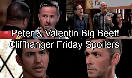General Hospital Spoilers: Friday, August 17 – Valentin and Peter Face Off – Maxie's Actions Honor Nathan – Margaux Seeks Drew's Help