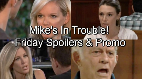 General Hospital Spoilers: Friday, August 24 - Cassandra In Action – Ava's Vengeance – Carly's After Margaux – Mike's In Trouble
