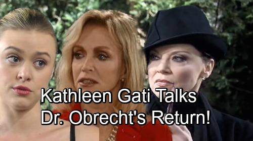 General Hospital Spoilers: Kathleen Gati Talks Dr. Obrecht's Return - What's Next For Liesl?