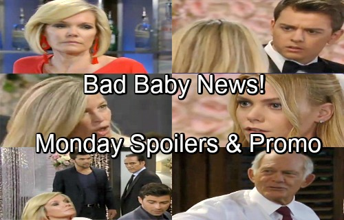 General Hospital Spoilers: Monday, July 16 – Nelle Hospitalized After Carly's Meltdown – Brad's Bad Baby News – Bobbie's Warning