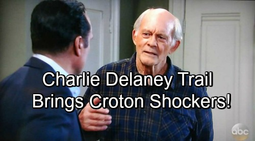 General Hospital Spoilers: Sonny Learns Who Helped Mike Move the Body – Charlie Delaney Trail Brings More Croton Shockers