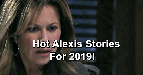 General Hospital Spoilers: Long-awaited Cassadine Story and Julexis Reunion - Fans Demand Alexis Action in 2019