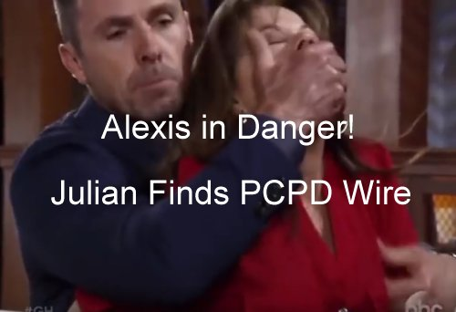'General Hospital' Spoilers: Alexis in Grave Danger, Julian Realizes Wife Wearing a Wire - Mobster Flips The Script