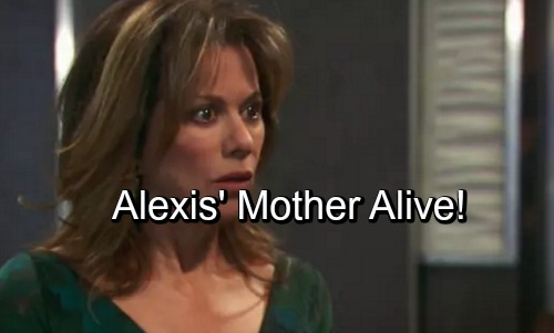 General Hospital Spoilers: Alexis' Mother Alive – Valentin Uncovers Shocking Twist?
