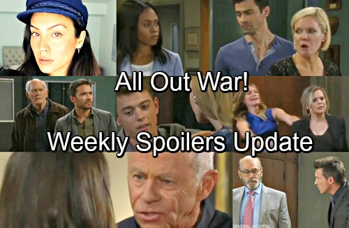 General Hospital Spoilers: Week of April 23-27 – Epic Failures, Marriage Proposal and All-Out War