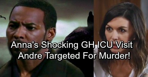 General Hospital Spoilers: Andre Brutally Attacked in Prison, Targeted for Murder By Mastermind - Anna Visits GH ICU