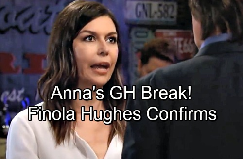 General Hospital Spoilers: Finola Hughes Confirms Summer Break, Has Message for GH Fans as Anna's Mystery Heats Up