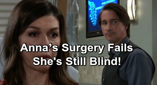 General Hospital Spoilers: Anna's Emergency Surgery Fails – Finn Removes Bandages, Finds Out She's Still Blind
