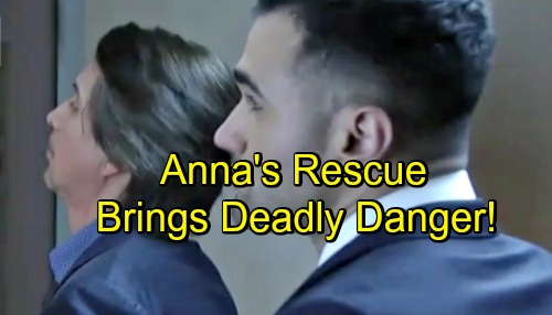 General Hospital Spoilers: Anna's Rescue Brings Deadly Danger – Robert Uses Finn as Bait, Sets Trap for Ruthless Kidnapper