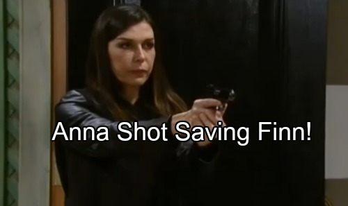 General Hospital Spoilers: Anna Shot in Bloody Battle with Faison, Rushed to GH – Finn Fears For His Dying Love