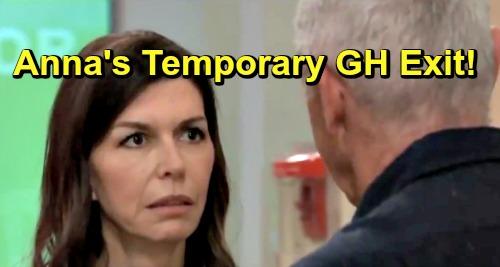 General Hospital Spoilers: Finola Hughes Exits GH for Summer Break – Anna's Departure Brings Alex Drama